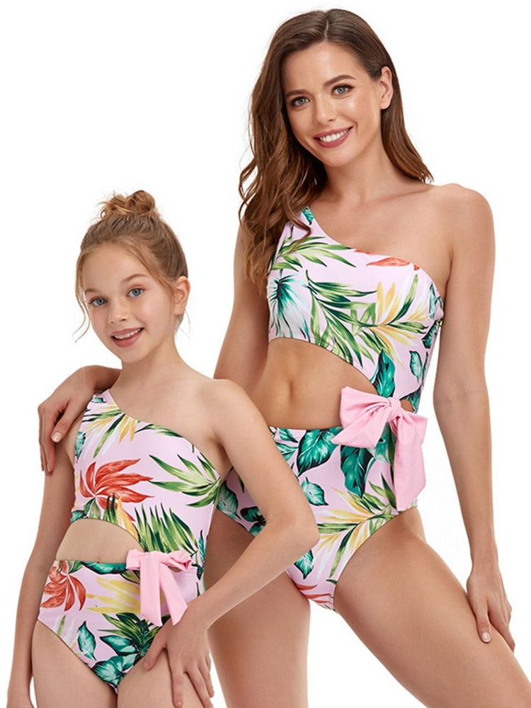 Tropical Print Mommy and Me Swim Sets