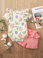 Girls Fruit 2-Piece Set