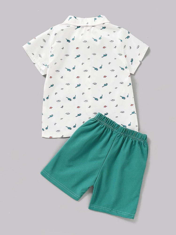 Boys Dinosaurs 2-Piece Set