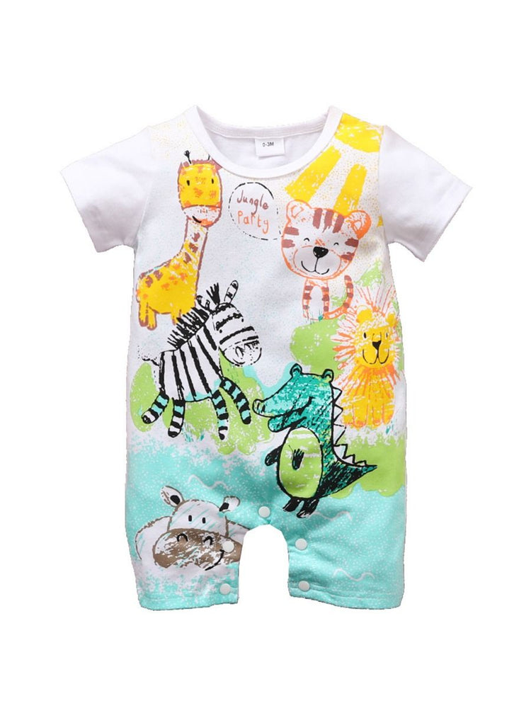 Boys Jungle Party Bodysuit