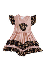 Girls Minnie Mouse Ruffle Tiered Dress