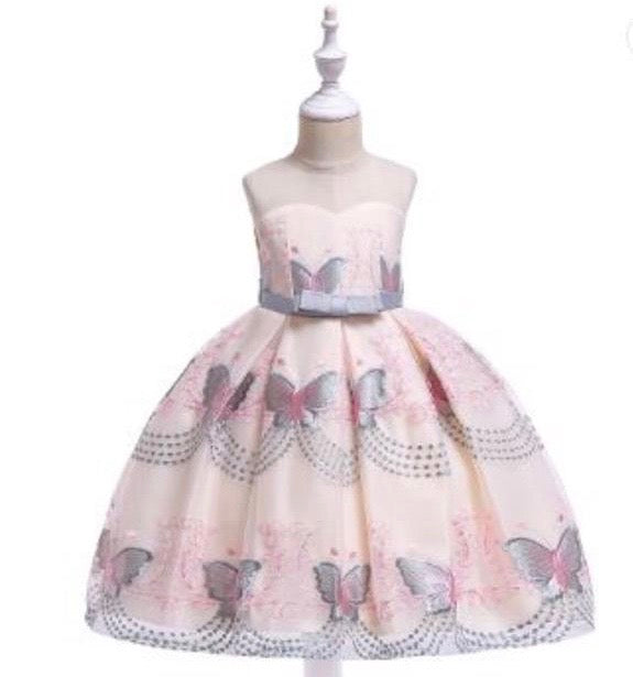 Girls Butterfly Tulle Dress