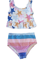 Girls Starfish 2-Piece Swimsuit Set