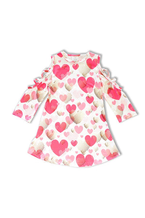 Girls Hearts Dress