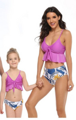 Floral Mommy and Me Swim Sets