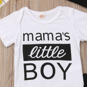 Boys Mama's Little Boy 3-Piece Set
