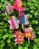 Girls Colors Bow Hair Clips