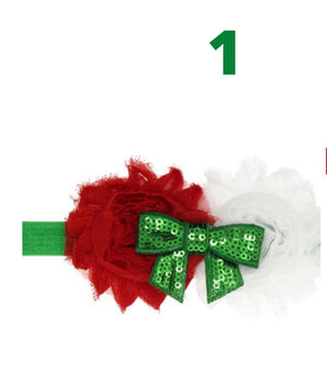Girls Holiday Headband