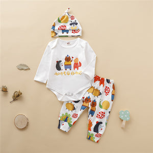 Boys Woodland Friends 3-Piece Set