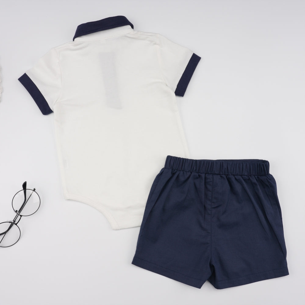 Boys Polo 2-Piece Set
