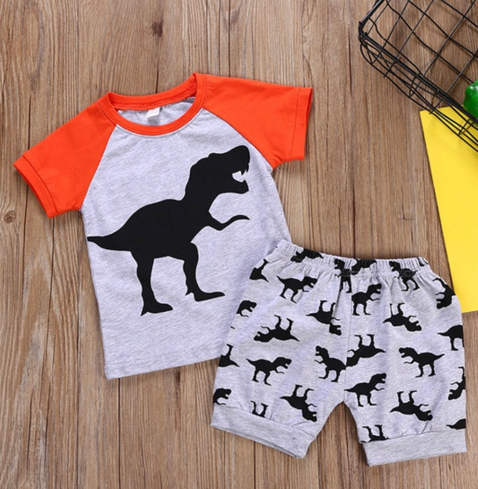 Boys T-Rex 2-Piece Set