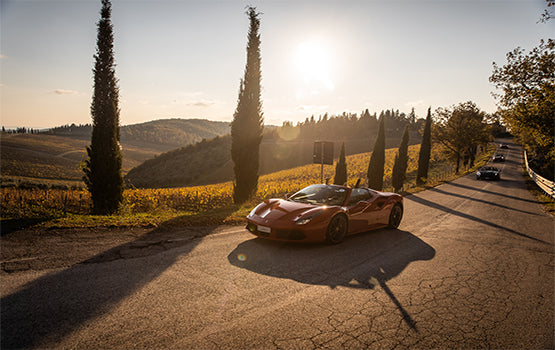 5 Unforgettable Experiences in Chianti-Renting a vintage car or a luxury sports car