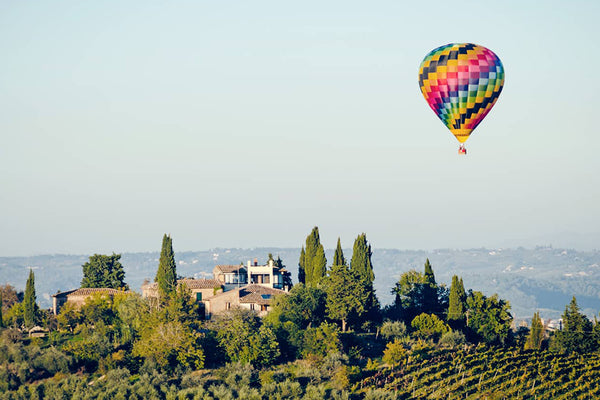 Unforgettable Experiences in Chianti-Flying in a Hot Air Balloon