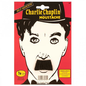 charlie chaplin stick on moustache