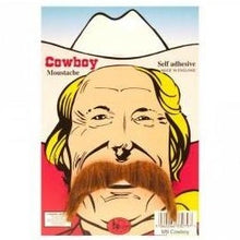 Load image into Gallery viewer, Cowboy Moustache (Blonde or Brown)