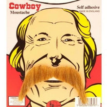 Load image into Gallery viewer, blonde cowboy style moustache