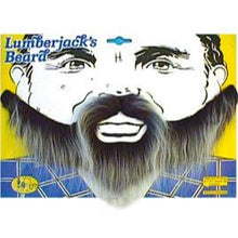 Load image into Gallery viewer, black and grey lumberjack beard