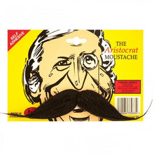 Load image into Gallery viewer, Aristocrat Moustache (Grey or Black)