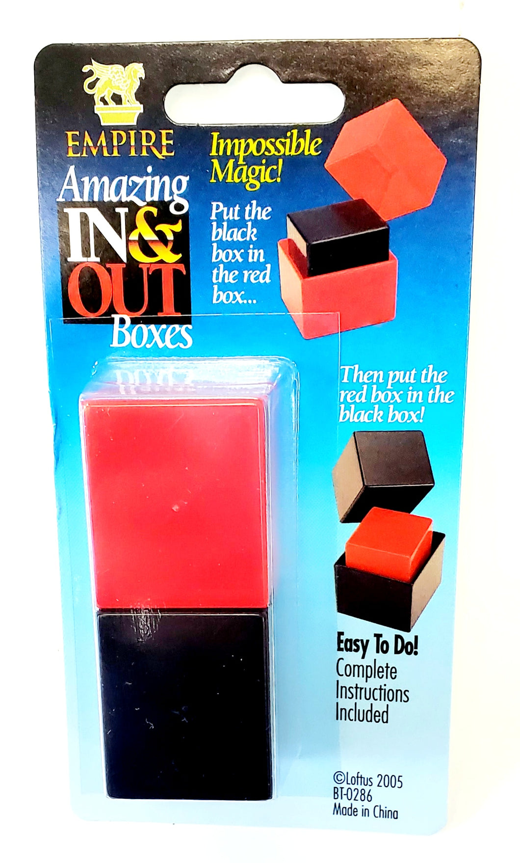 In 'N' Out Boxes (Gozinta boxes)