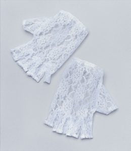 Lace Gloves (White or Black)