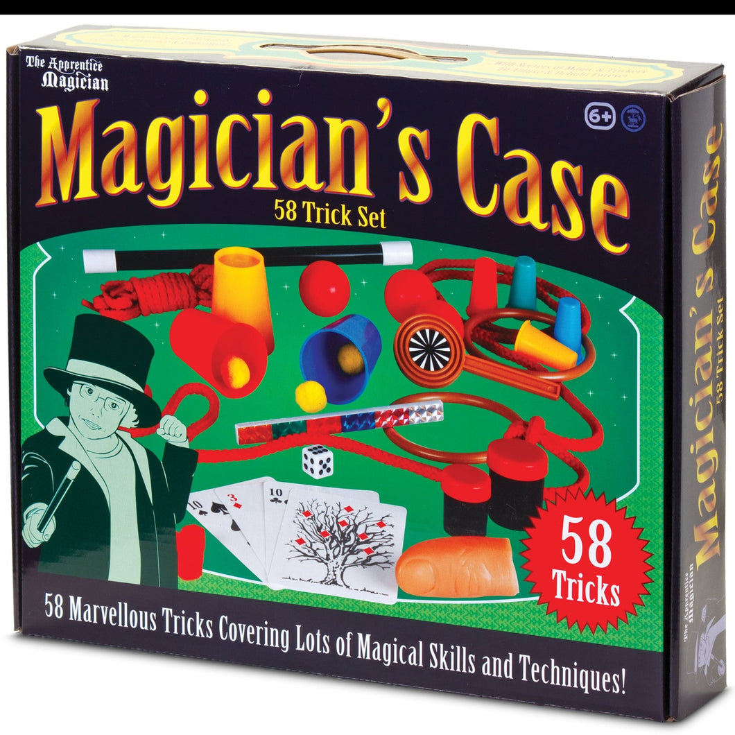 Magicians Case (58 Easy to Learn Tricks)