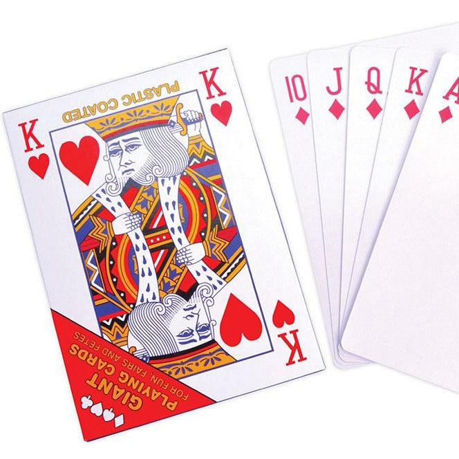 Gigantic Playing Cards (28.5 x 20.5cm)