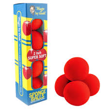 "Sponge Balls-2"" Supersoft"