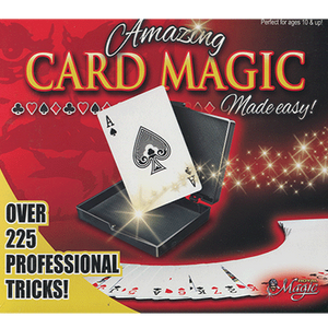 a box of 225 professional card tricks for magicians made easy
