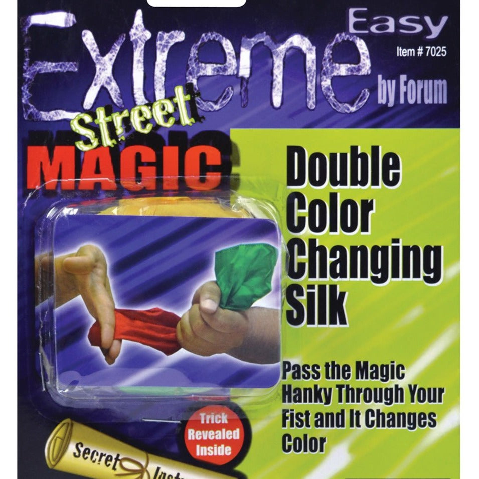 Double Colour Changing Silk