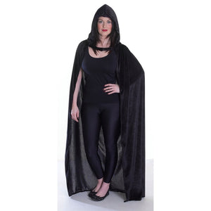 Velvet Hooded Cape