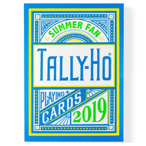 Tally-Ho Summer Fan Playing Cards 2019