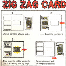 Load image into Gallery viewer, Zig Zag Card
