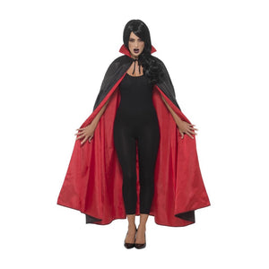 Reversible Vampire Cape, Black & Red