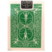 Load image into Gallery viewer, Bicycle Green Playing Cards