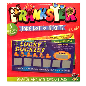 Joke Lottery Ticket