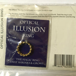 Optical Illusion Ring