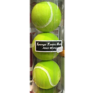 Sponge Tennis Balls by Alan Wong