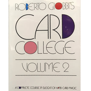 Card College Vol. 2 by Roberto Giobbi