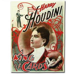Harry Houdini Vintage Magic Poster