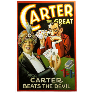 Carter the Great (Vintage Magic Poster)