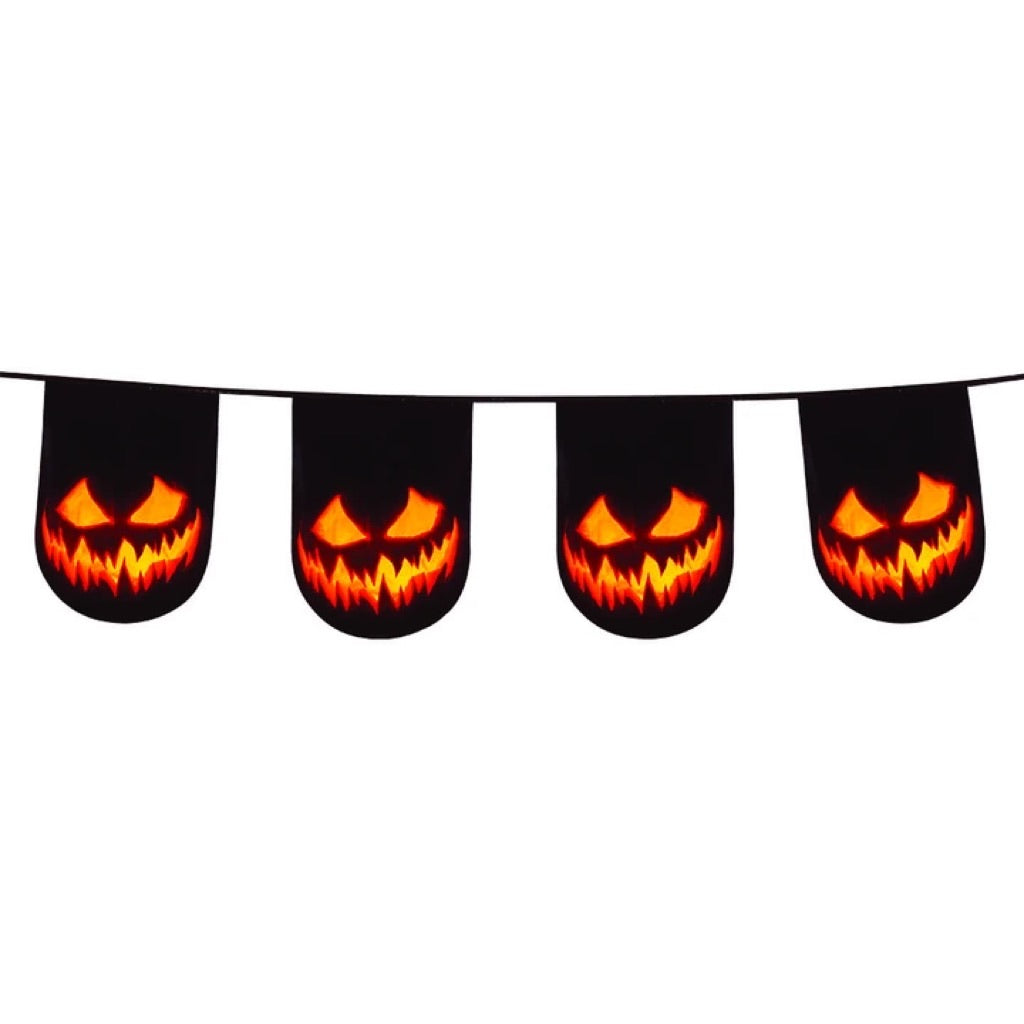 Creepy Pumpkin Bunting
