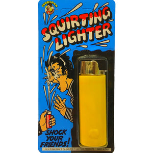 Looks like a normal lighter but squirts water