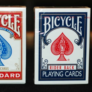 Standard Bicycle Playing Cards (Available in Red or Blue)