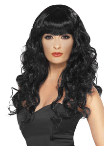 Siren Wigs (Blue, Pink, Purple, Red/Black, Green, Blonde, Black)