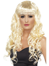 Load image into Gallery viewer, Siren Wigs (Blue, Pink, Purple, Red/Black, Green, Blonde, Black)
