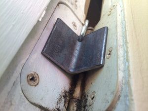 Angle Iron Door Chocks