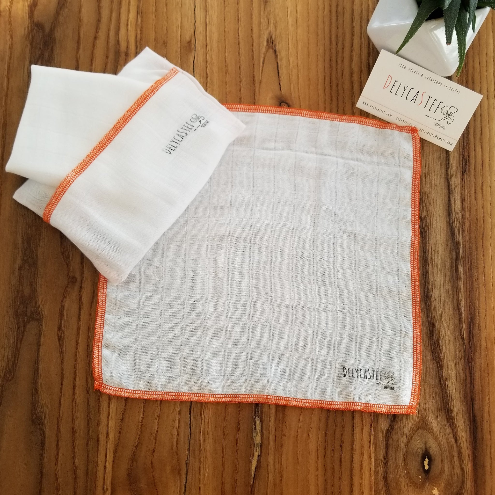 i-Sure Lot de 4 serviettes de table en tissu