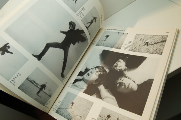 "The Beatles ""A Hard Day's Night"" vintage ""movie-in-a-book"" softcover First edition [1977] Features the entire script mated to film stills"