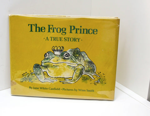 "Signed Children's Book ""The Frog Prince"" [c. 1970] Jane White Canfield FREE PRIORITY SHIPPING to U.S."
