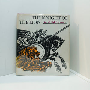 The Knight of the Lion Signed First edition [1979] Gerald McDermott Illustrated children's story book